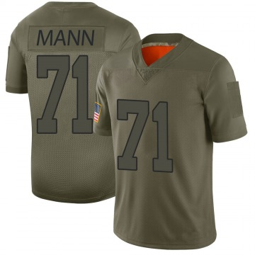 Youth Charles Mann Washington Redskins Nike Limited 2019 Salute to Service Jersey - Camo