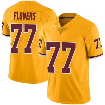 Youth Ereck Flowers Washington Redskins Nike Limited Color Rush Jersey - Gold
