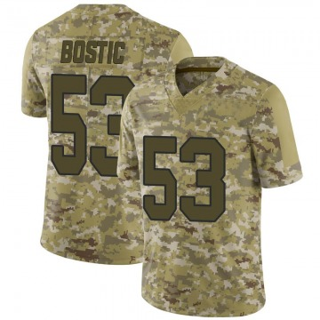 Youth Jon Bostic Washington Redskins Limited 2018 Salute to Service Jersey - Camo