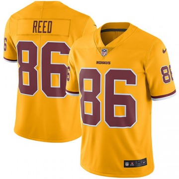 Youth Jordan Reed Washington Redskins Nike Limited Color Rush Jersey - Gold